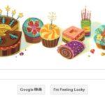 Googleにも祝ってもらえた誕生日。